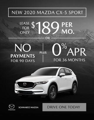 2020 Mazda CX-5 $189/mo