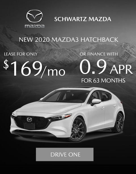 Mazda3 Hatch New Lease Offer