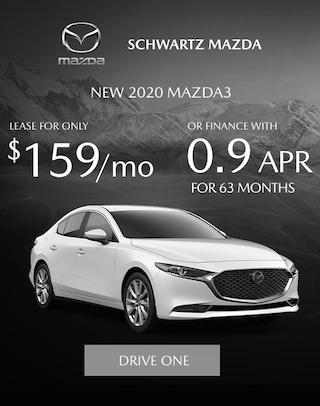 Mazda3 new lease offer