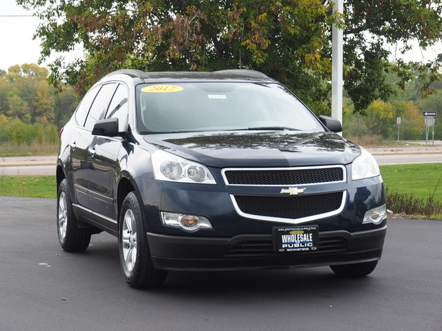 Used 2012 Chevrolet Traverse LS with VIN 1GNKRFED5CJ211911 for sale in Cold Spring, Minnesota