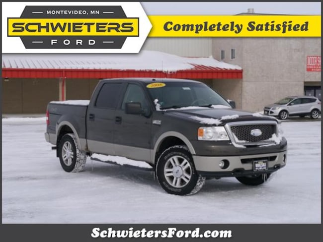 2008 Ford F-150 4WD Supercrew 139 Lariat Truck