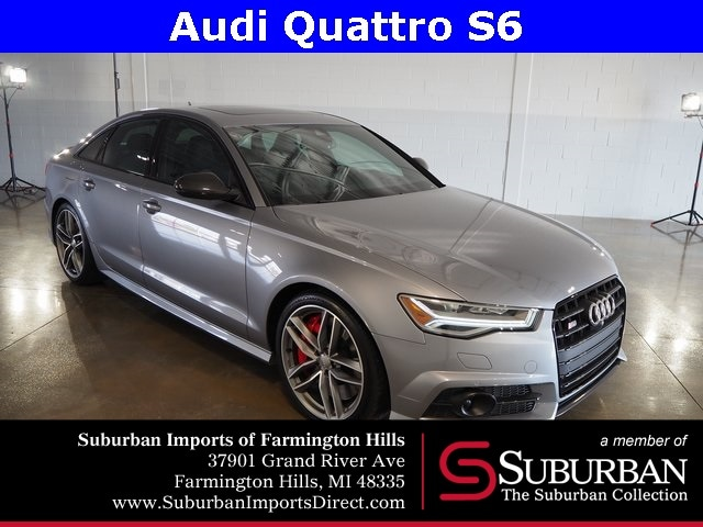 Pre-Owned 2017 Audi S6 4.0T Premium Plus Sedan Farmington Hills, MI