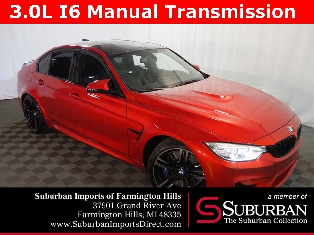 Pre-Owned 2016 BMW M3 Sedan Farmington Hills, MI