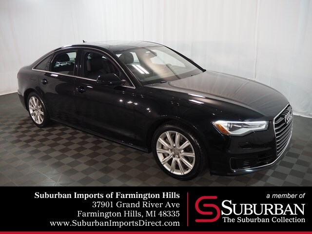 Pre-Owned 2016 Audi A6 2.0T Premium Sedan Farmington Hills, MI