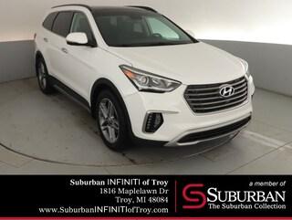 2017 Hyundai Santa Fe Limited Ultimate SUV Troy MI