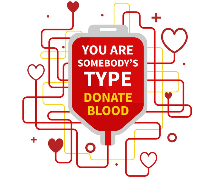 you're someone's type - donate blog