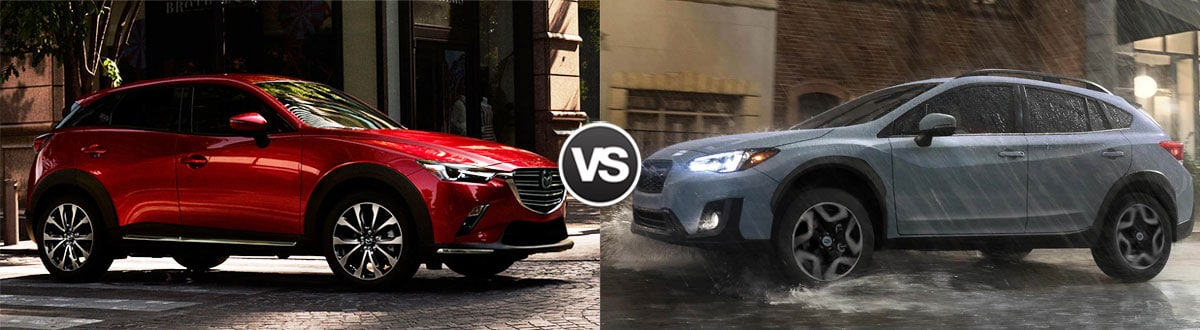 2019 Mazda CX-3 vs 2018 Subaru Crosstrek