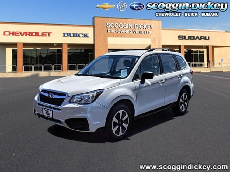 Certified Pre-Owned 2018 Subaru Forester 2.5i SUV For Sale Lubbock, Texas