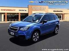 Certified Pre Owned 2018 Subaru Forester 2.5i SUV JF2SJABC6JH521490 for Sale in Lubbock