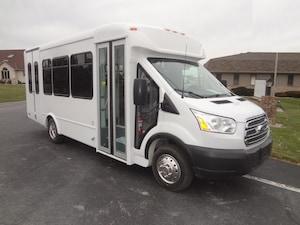 2019 FORD Transit E350 - StarTrans Candidate II 11 Passenger + 2 W/C + Driver