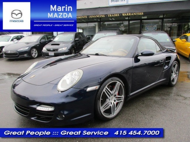 2009 Porsche 911 Turbo Cabriolet Turbo
