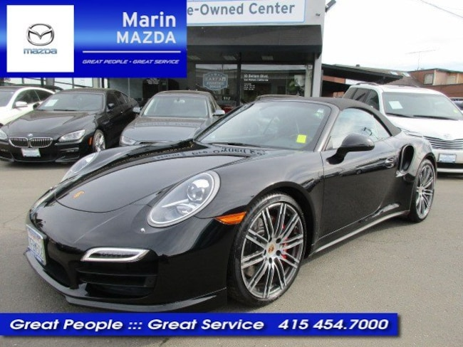 2015 Porsche 911 Turbo Cabriolet Turbo