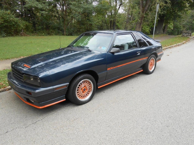 1985 Mercury Capri HATCHBACK