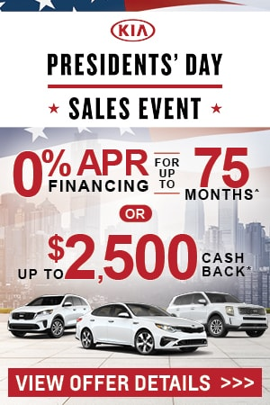 New Kia Incentives