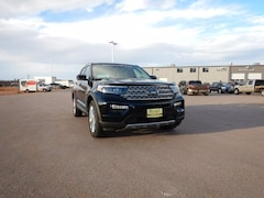 New 2021 Ford Explorer Limited SUV 1FMSK8FH7MGA46206 in Sturgis, SD