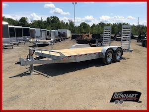 2018 Canada Trailers 7x18 Galvanized Equipment Trailer
