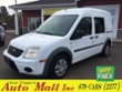 2012 Ford Transit Connect XLT w/Rear & Side Door Glass Minivan