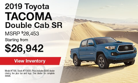 2019 Toyota Tacoma Double Cab SR5 - March