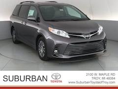 New 2019 Toyota Sienna XLE 7 Passenger Van Troy MI