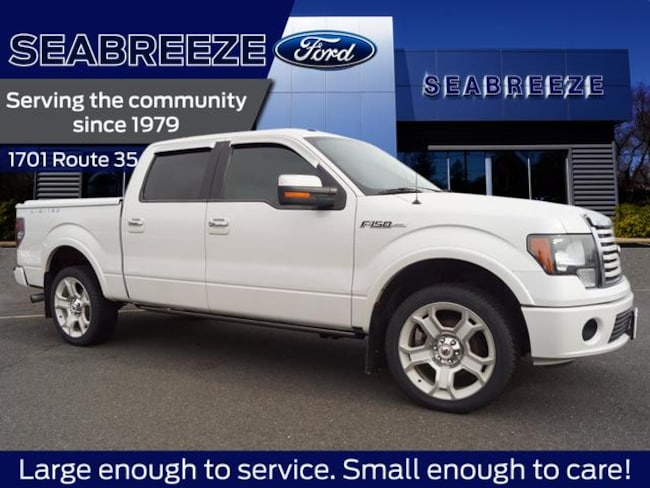 2011 Ford F-150 4WD Lariat Limited 4x4 SuperCrew Styleside 5.5 ft. SB