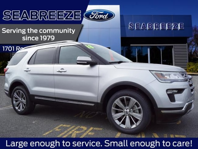 2018 Ford Explorer Limited AWD SUV