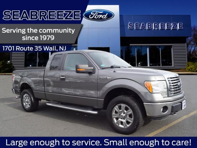 2012 Ford F-150 4WD Supercab 145  XLT 4x4 SuperCab 6.5 ft. SB