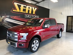 Used Vehicles 2017 Ford F-150 Platinum Truck SuperCrew Cab In Mayfield, KY
