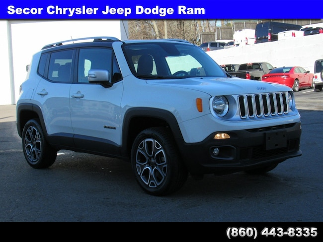 Used 2015 Jeep Renegade Limited 4WD  Limited for sale in New London