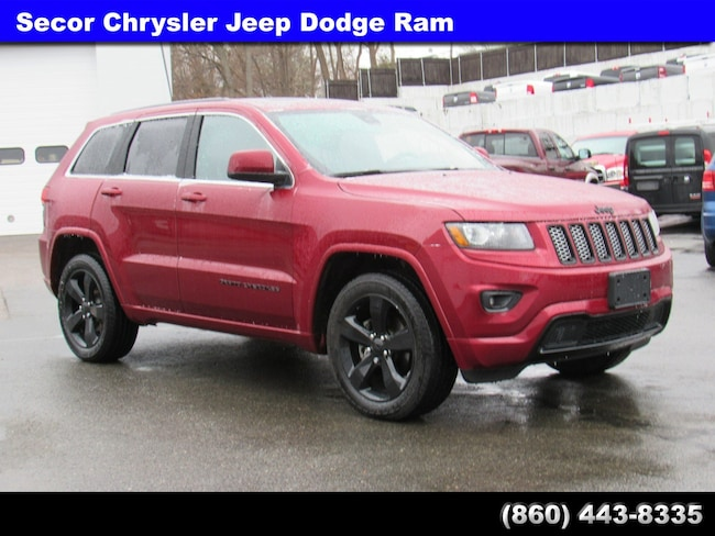 Used 2015 Jeep Grand Cherokee Altitude 4WD  Altitude for sale in New London