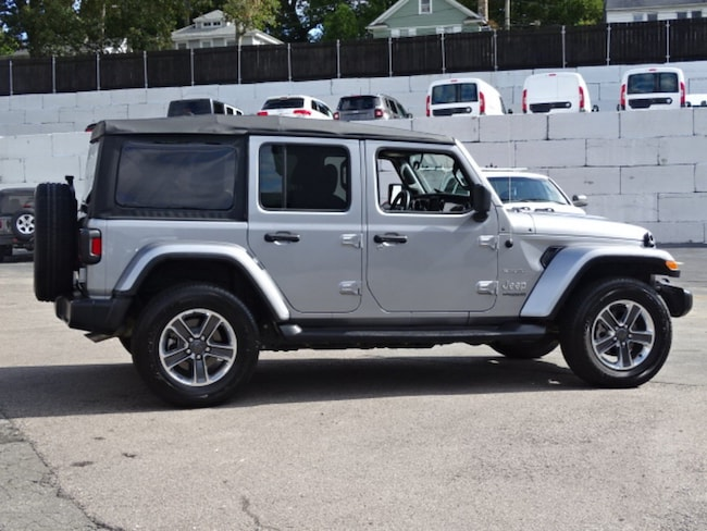 used 2018 jeep wrangler unlimited sahara for sale in new london near norwich ct secor. Black Bedroom Furniture Sets. Home Design Ideas