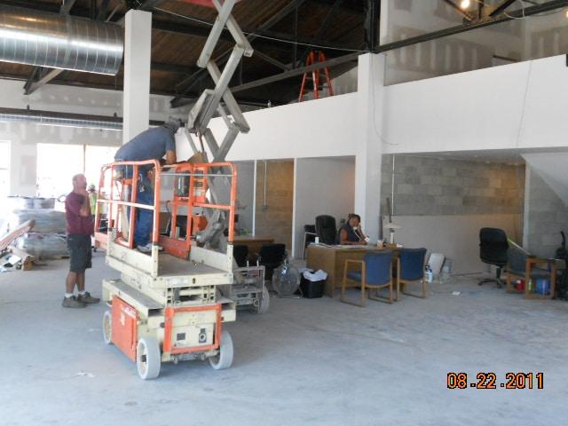 Construction Site Inside
