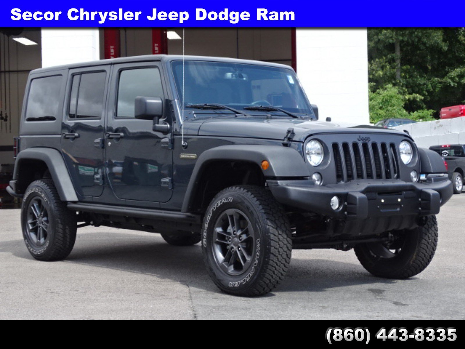 Used 2018 Jeep Wrangler JK Unlimited Freedom Edition Freedom Edition 4x4  For Sale In New London