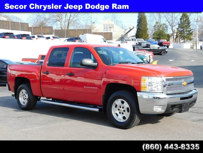 Used 2013 Chevrolet Silverado 1500 LT 4WD Crew Cab 143.5 LT for sale in New London
