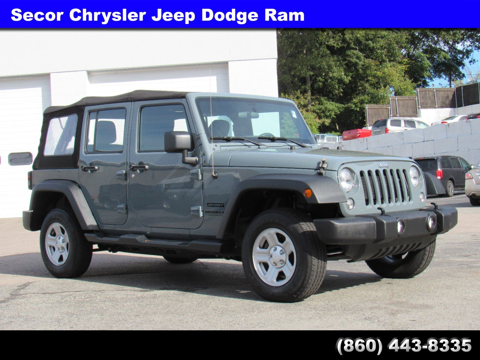 2015 Jeep Wrangler Unlimited Sport 4WD  Sport