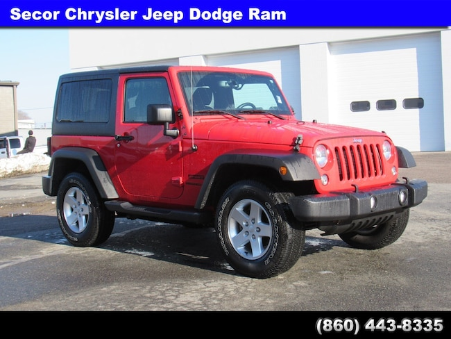 Used 2015 Jeep Wrangler Sport 4WD  Sport for sale in New London