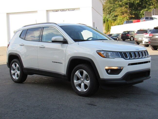 New 2019 Jeep Compass LATITUDE 4X4 Sport Utility Near Norwich