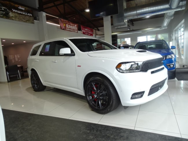 New 2018 Dodge Durango SRT AWD Sport Utility Near Norwich