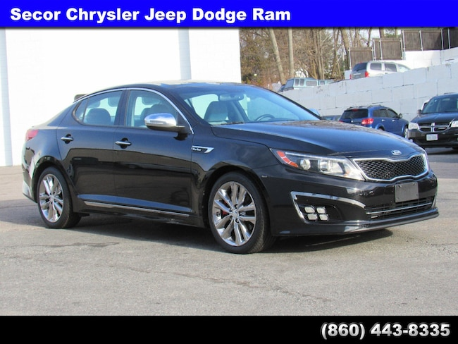 Used 2014 Kia Optima SXL Turbo Sedan for sale in New London