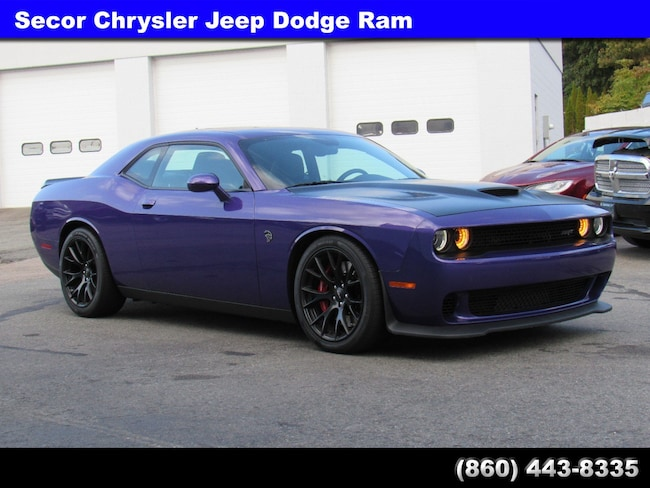 Used 2016 Dodge Challenger SRT Hellcat Coupe for sale in New London