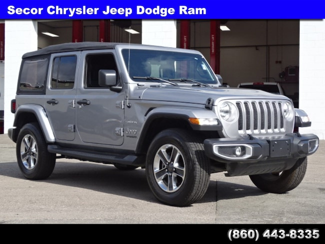 Used 2018 Jeep Wrangler Unlimited Sahara Sahara 4x4 for sale in New London