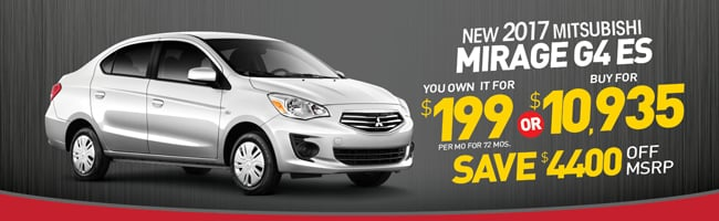 Superb MIRAGE SPECIAL From Secor Mitsubishi | CT Mitsubishi Dealer