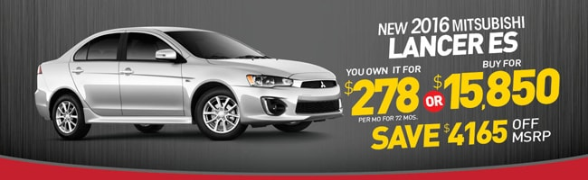 High Quality LANCER SPECIAL From Secor Mitsubishi | CT Mitsubishi Dealer