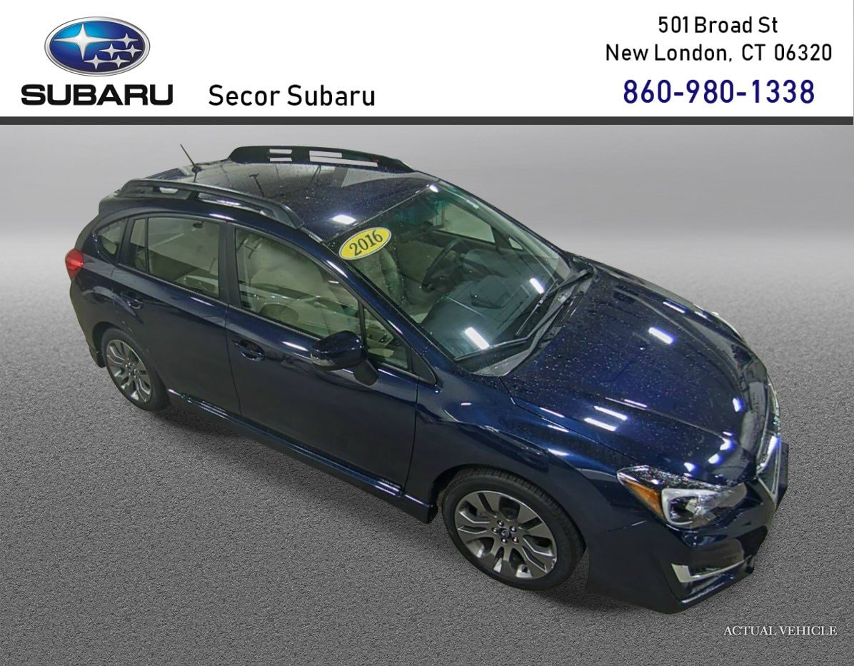 Subaru Impreza Hatchback For Sale >> Used 2016 Subaru Impreza Wagon For Sale New London Ct Vin Jf1gpap60gh221271