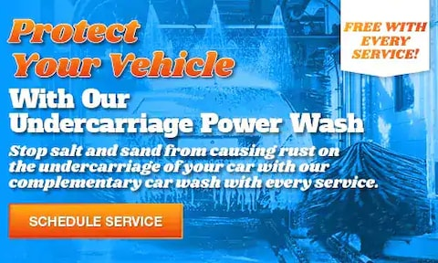 Protect Your Vehicle With Our Undercarriage Power Wash