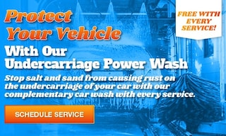Free Undercarriage Power Wash With Every Service
