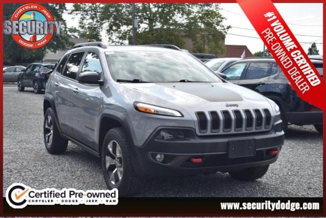 2014 Jeep Cherokee 4WD  Trailhawk Sport Utility