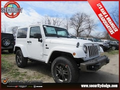 2017 Jeep Wrangler JK 75TH ANNIVERSARY EDITION 4X4 Sport Utility