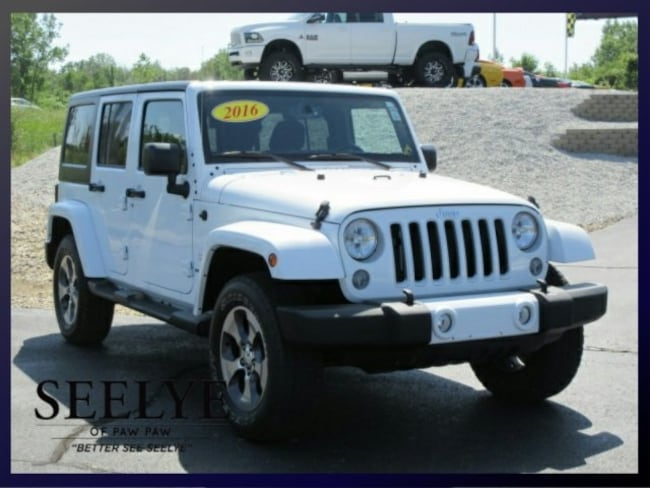 DYNAMIC_PREF_LABEL_AUTO_USED_DETAILS_INVENTORY_DETAIL1_ALTATTRIBUTEBEFORE 2016 Jeep Wrangler Unlimited Sahara SUV for sale near portage