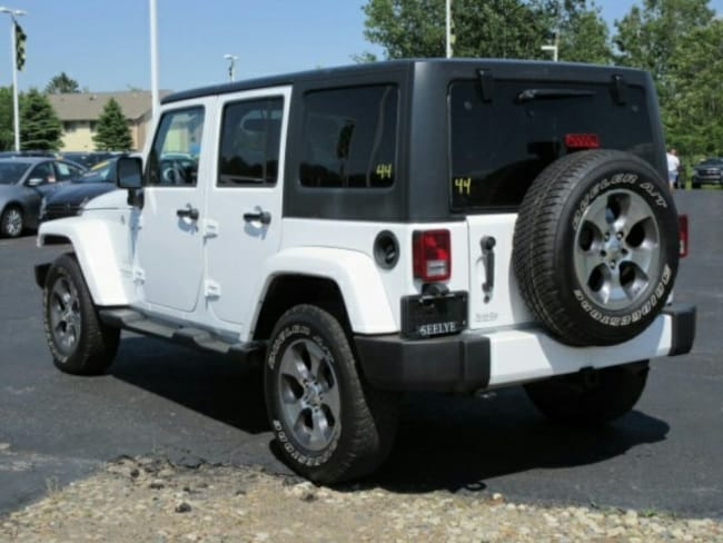 used 2016 jeep wrangler unlimited sahara for sale paw. Black Bedroom Furniture Sets. Home Design Ideas