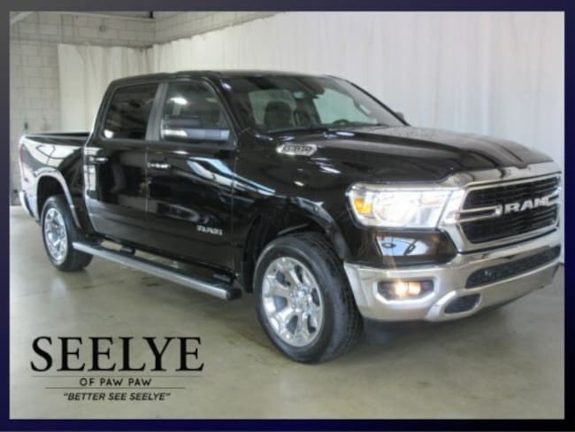 DYNAMIC_PREF_LABEL_AUTO_NEW_DETAILS_INVENTORY_DETAIL1_ALTATTRIBUTEBEFORE 2019 Ram 1500 BIG HORN / LONE STAR CREW CAB 4X4 5'7 BOX Crew Cab for sale near portage